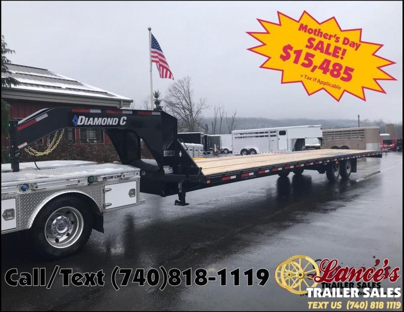 2019 Diamond C 40' Equipment Trailer K1209577