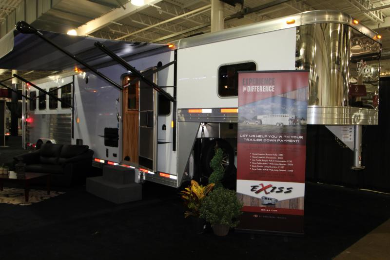 2019 Exiss Endeavor 8410 LQ 4 Horse Trailer