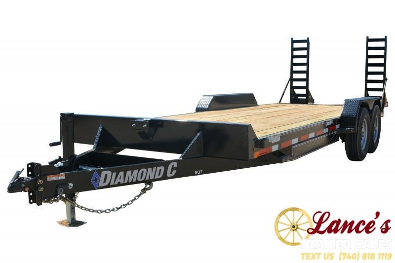 2019 Diamond C Trailers EQT207L20X82 Equipment Trailer