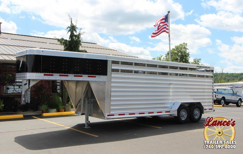 2019 Featherlite 8117 20' Livestock Trailer KC151469
