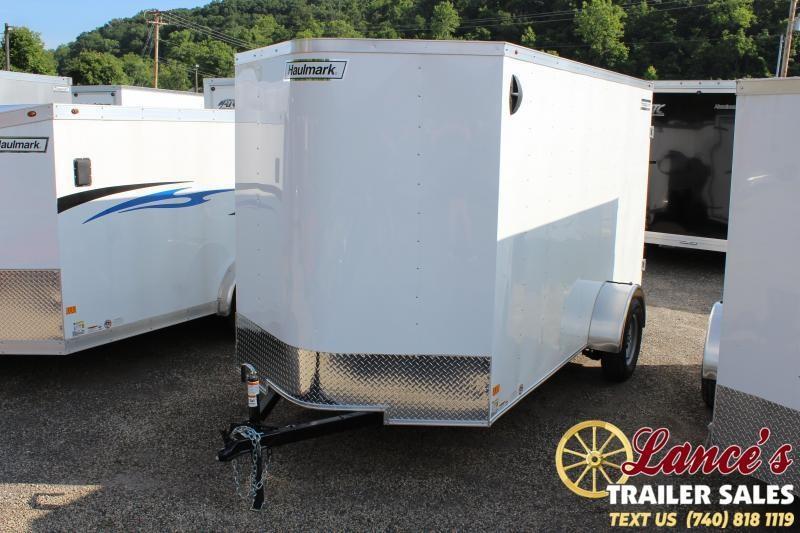 "2019 Haulmark 6'x12'x6'-6"" Enclosed Cargo Trailer"