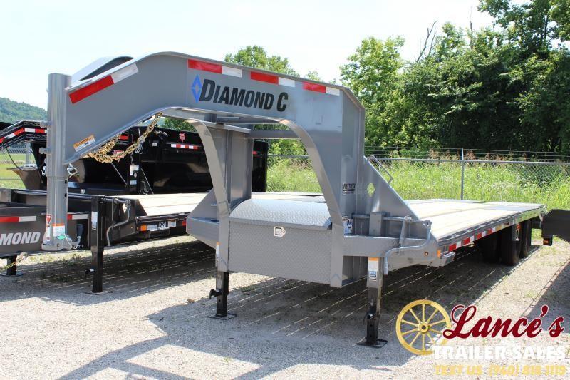 "2019 Diamond C Trailers 30'x102"" Equipment Trailer"