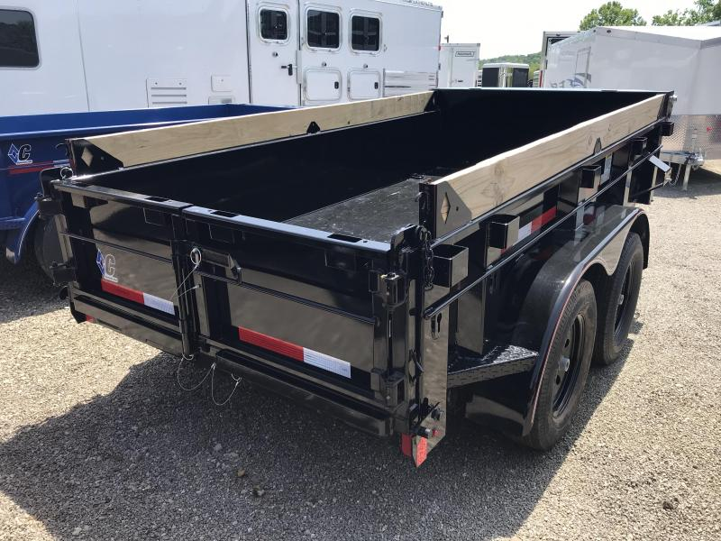 2019 Diamond C 5'x10' Deluxe Dump Trailer K1209793