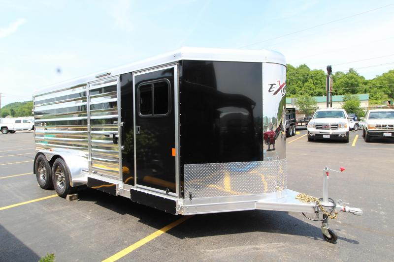 2019 Exiss Exhibitor 16' Livestock Trailer w/ Air Gaps K5071197