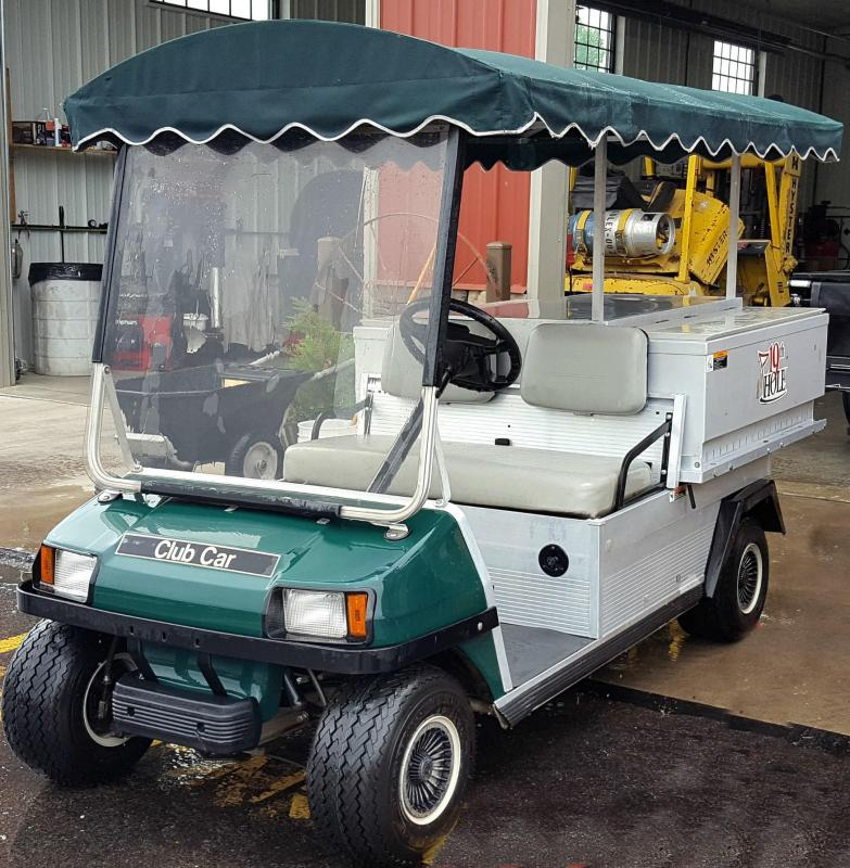 2000 Club Car Beverage Cart