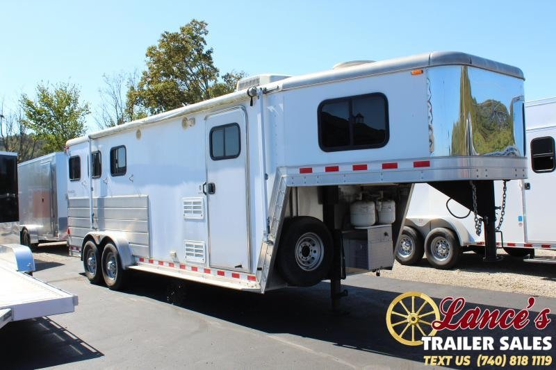 2008 Keifer Built 7307LQ Horse Trailer