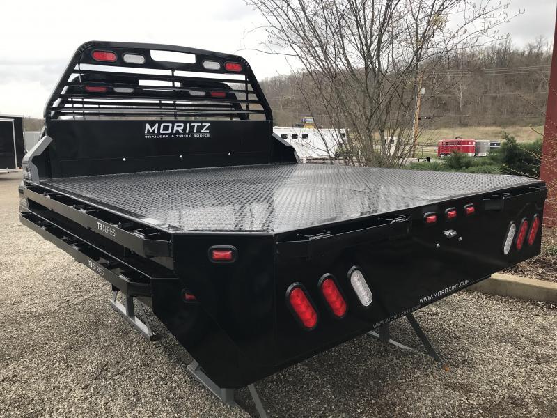 """2019 Moritz 8'W x 9'4""""L Steel Truck Bed"""