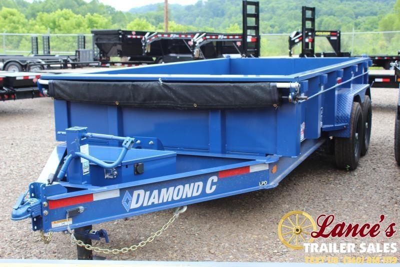 2019 Diamond C 82x14 Dump Trailer