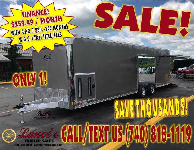 2019 ATC Raven Plus 8.5'x28' Enclosed Car Hauler KC215750 SALE ENDS MAY 25TH