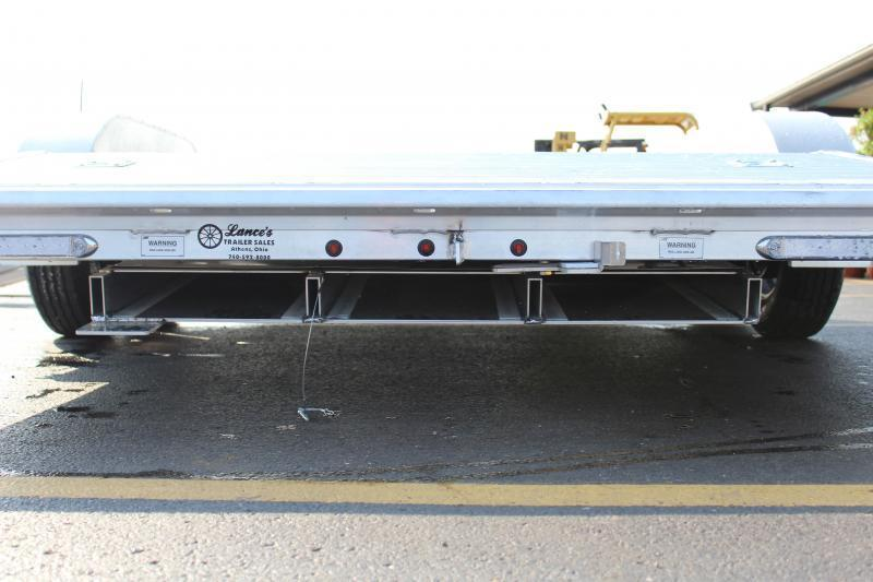 "2018 ATC Arrow 82""x18' Aluminum Open Car Hauler-7K-Torsion"