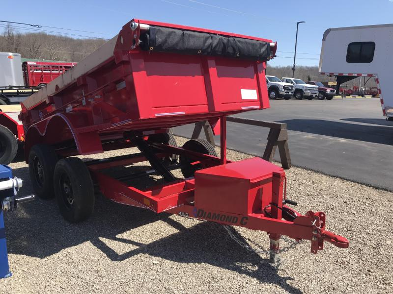"2019 Diamond C 60""x10' Deluxe Dump Trailer K1209026"