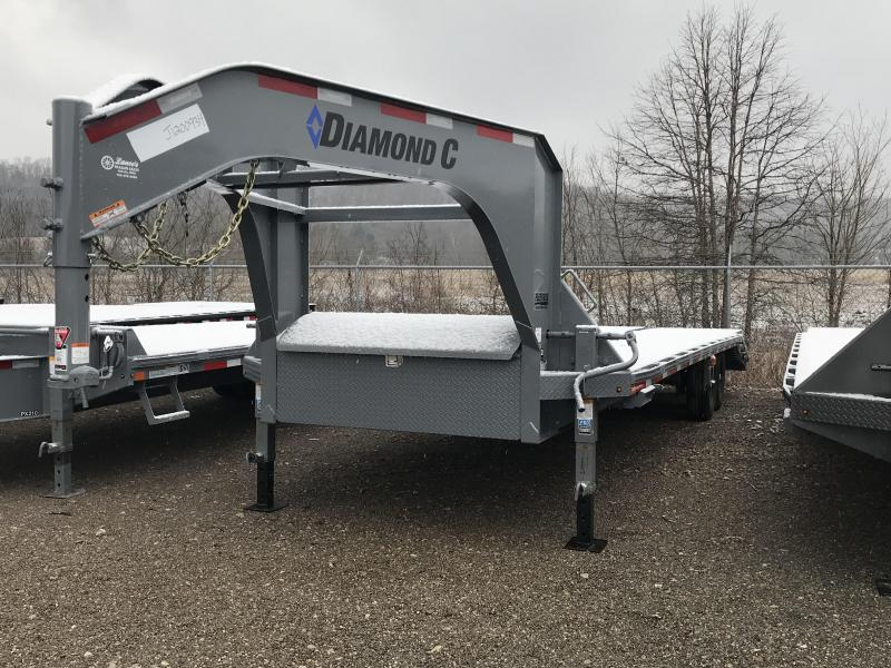 2018 Diamond C Trailers FMAX 207 25' Equipment Trailer J1200934
