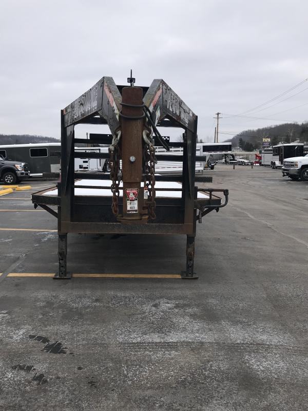"""2006 Parker 96""""x36' Used Equipment Trailer 71000329"""