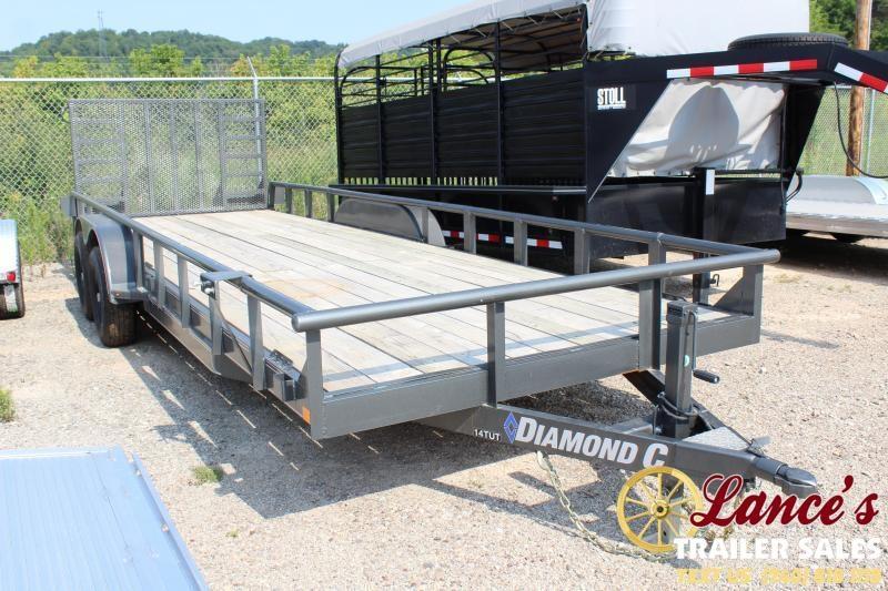 2019 Diamond C 22' Equipment Trailer