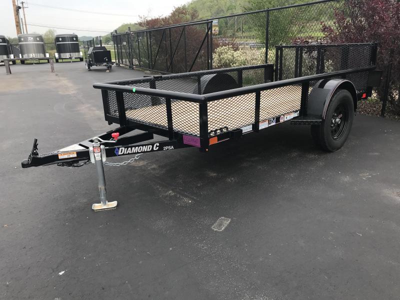 "2019 Diamond C 2PSA 60""x10' Utility Trailer K1209940"