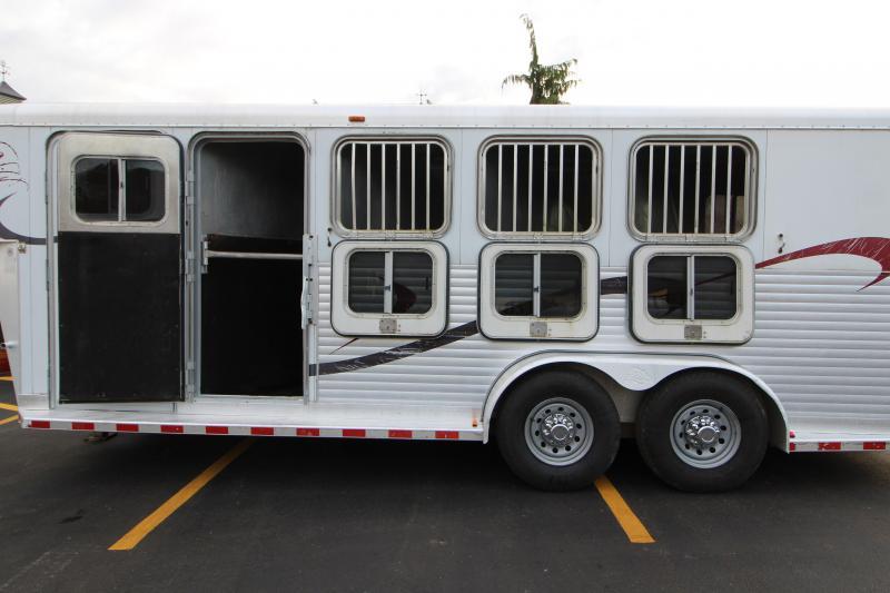 2000 Sooner 4 Horse Revolution Horse Trailer