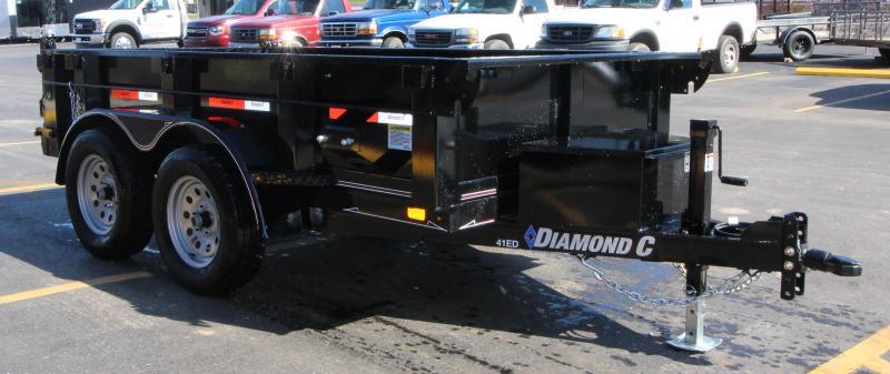 "2018 Diamond C 5'x10' ""Value Leader""  Dump Trailer"