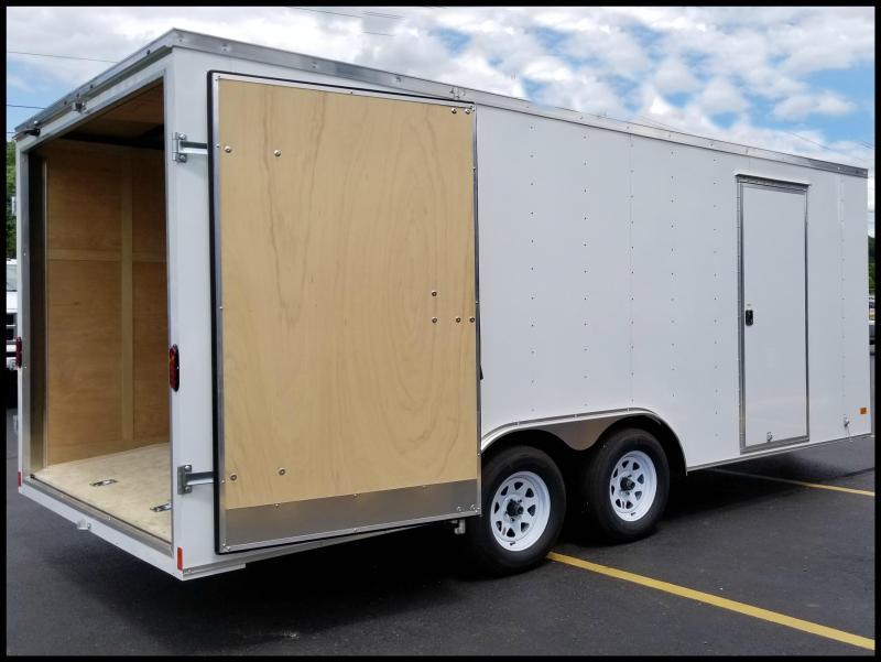 "2018 Haulmark 8'5x18' ""Contractor's Special"" 7K Cargo Trailer"