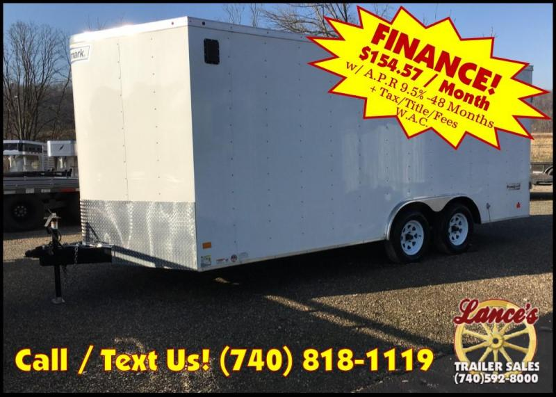 2018 Haulmark Passport 8'5x18' 7K Tandem Axle Cargo Trailer JH367888  in Ashburn, VA