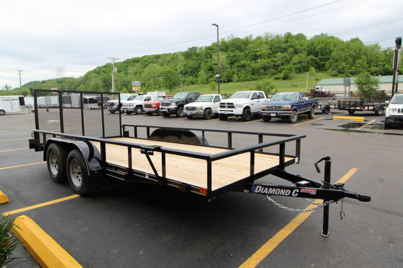 "2018 Diamond C Ranger 83""x16' Utility Trailer"
