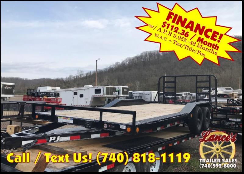 "2019 PJ 102""x20' 5"" Channel Trailer K3036534"