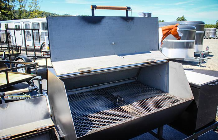 2018 Carry-On Smoker Grill Trailer JG023687