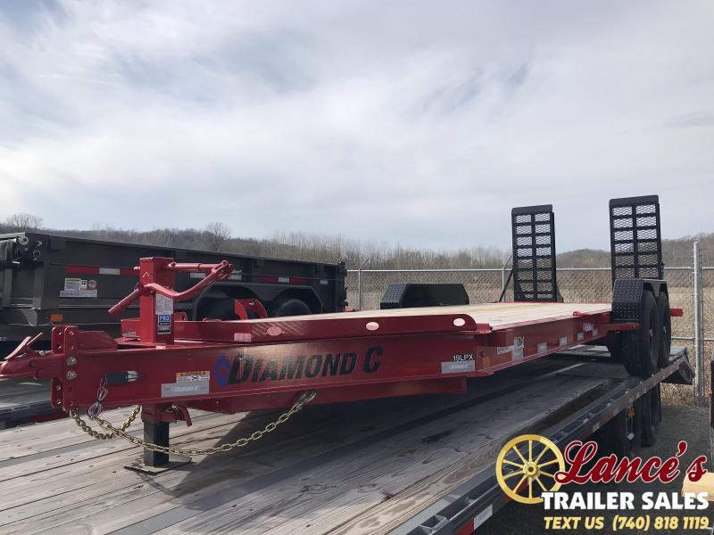 "2019 Diamond C 82""X20' Equipment Trailer"