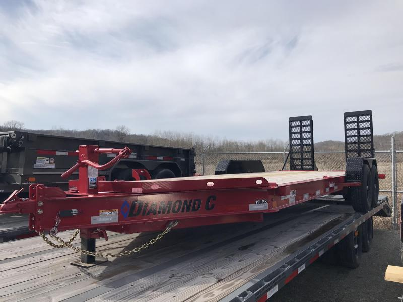 "2019 Diamond C 82""x20' Low Pro Equipment Trailer K1206903"