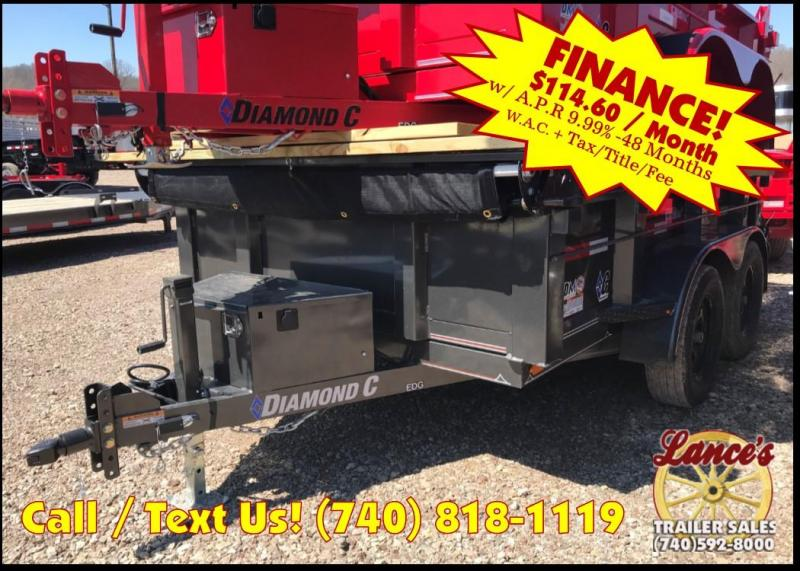 "2019 Diamond C 77""x10' Dump Trailer"