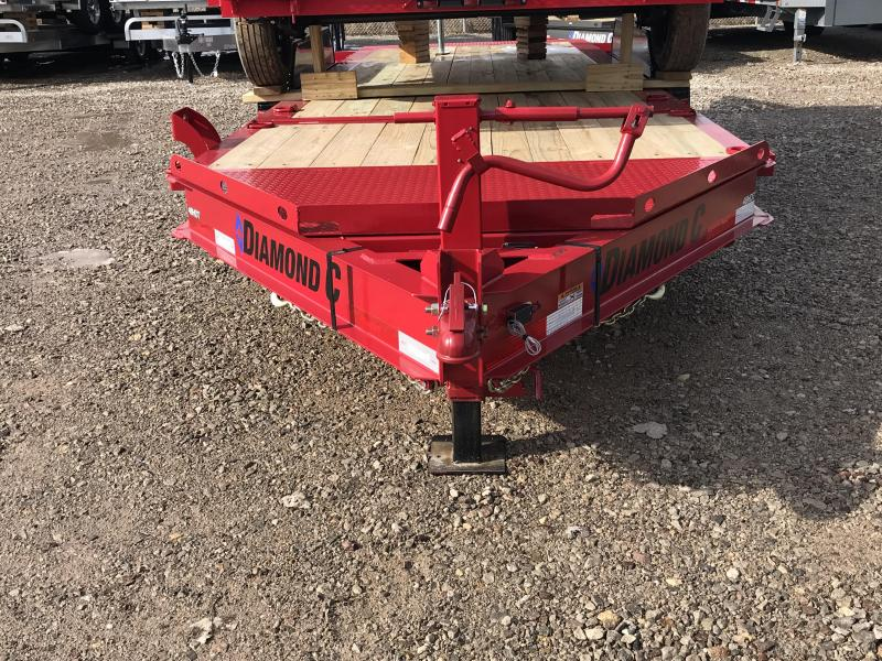"2019 Diamond C 82""x20' Tilt Equipment Trailer K1206706"