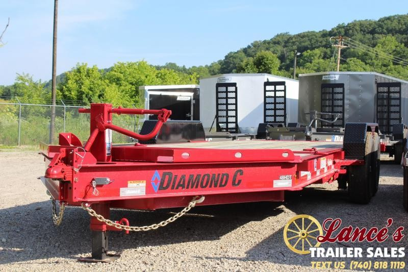 "2019 Diamond C HDT 82""x20' Tilt Equipment Trailer"