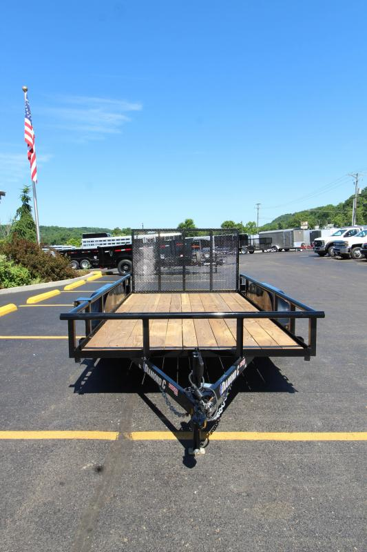 "2018 Diamond C Ranger 83""x12' Utility Trailer"