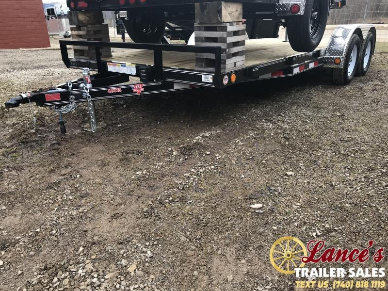 "2019 PJ 83""x18' 4""Channel Open Car Hauler K2591041"