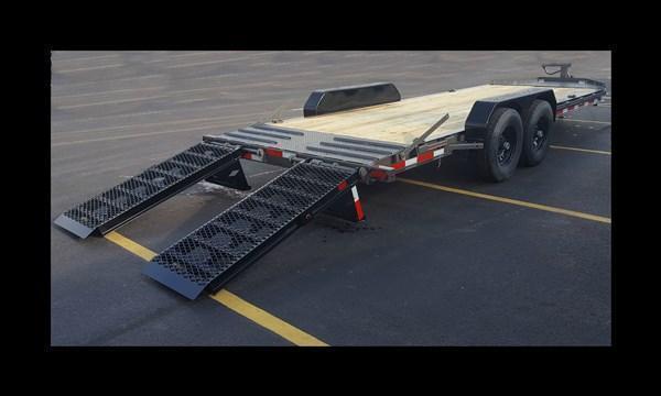 """2017 Diamond C 19LPX 20' """"Low Profile"""" Equipment Trailer"""