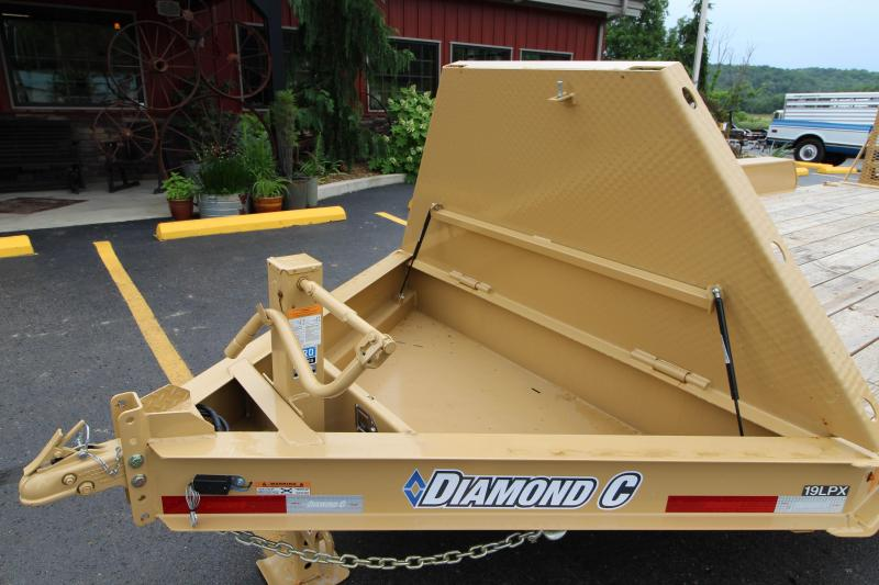 "2018 Diamond C 20' ""Low Profile"" Equipment Trailer"