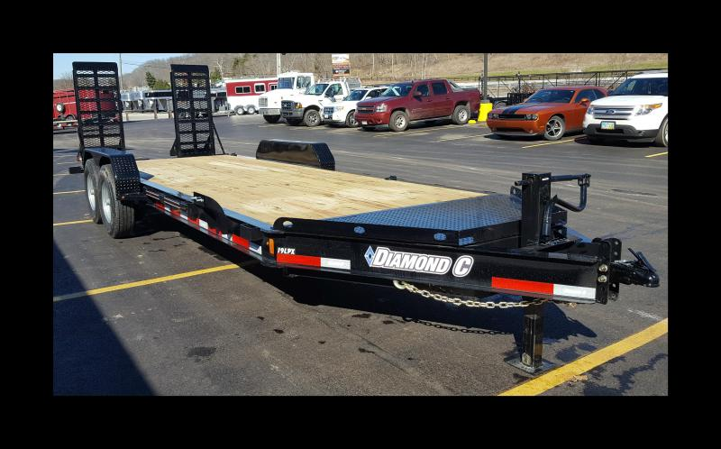 "2017 Diamond C 19LPX 20' ""Low Profile"" Equipment Trailer"