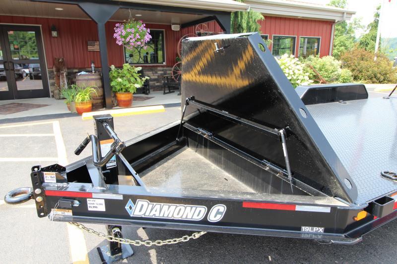 "2019 Diamond C 19LPX  82""x16' ""Skid Steer"" Equipment Trailer"