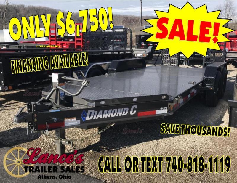 """2019 Diamond C 19LPX  82""""x16' Equipment Trailer K1206907 in Ashburn, VA"""