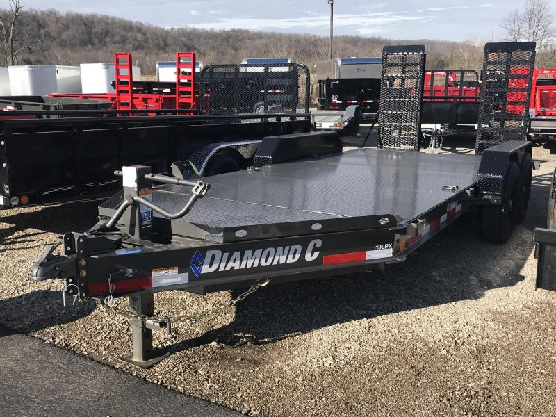 "2019 Diamond C 19LPX  82""x16' Equipment Trailer K1206907 in Ashburn, VA"