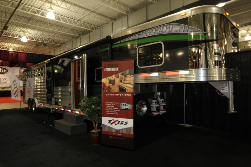 """2019 Exiss Trailers EXISS 8032 LQ- 78"""" Horse Trailer"""