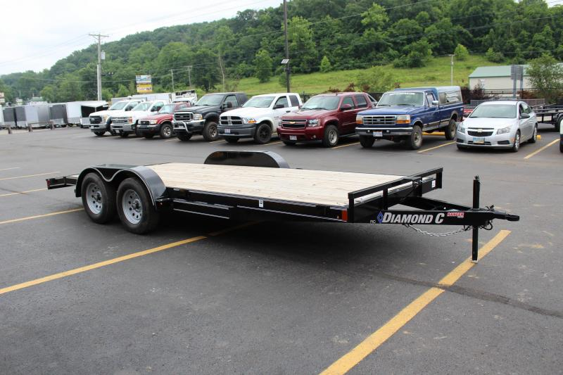 "2019 Diamond C 83""x18' Open Car Hauler K1209938"