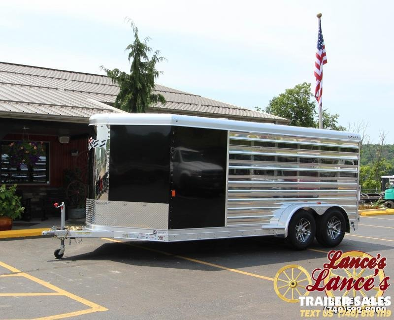 2019 Exiss Exhibitor 16' Low Pro Show Bumper Trailer w/Air Gaps K5071196