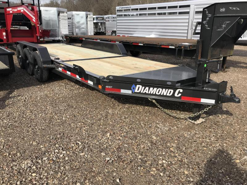 "2019 Diamond C 82""x22' Tri Axle Tilt Equipment Trailer K1210092"