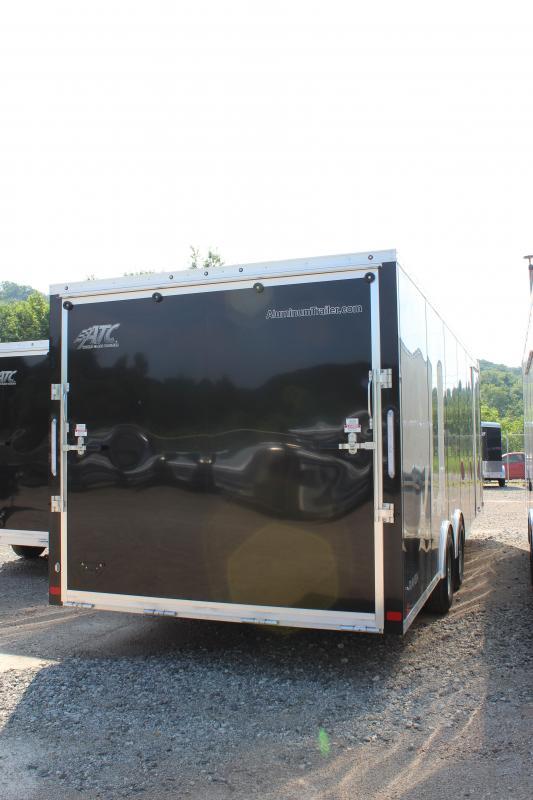 2019 ATC Raven Plus 8.5'x24' Enclosed Car Hauler