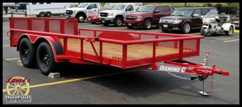 "2019 Diamond C 6GT 83""x14' Utility Trailer"