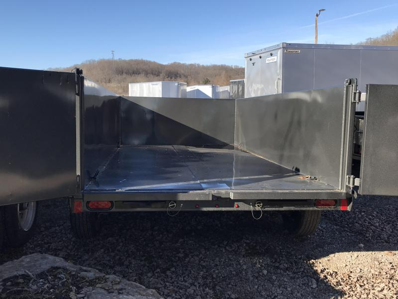 "2019 Diamond C 77""x12' High Sided Dump Trailer K1207483"