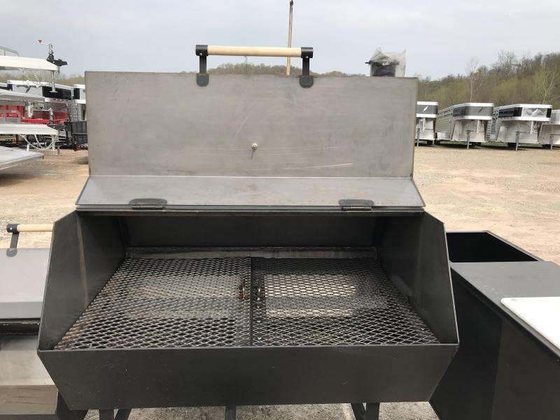 2019 Carry-On Smoker Grill BBQ | Lances Trailer Sales
