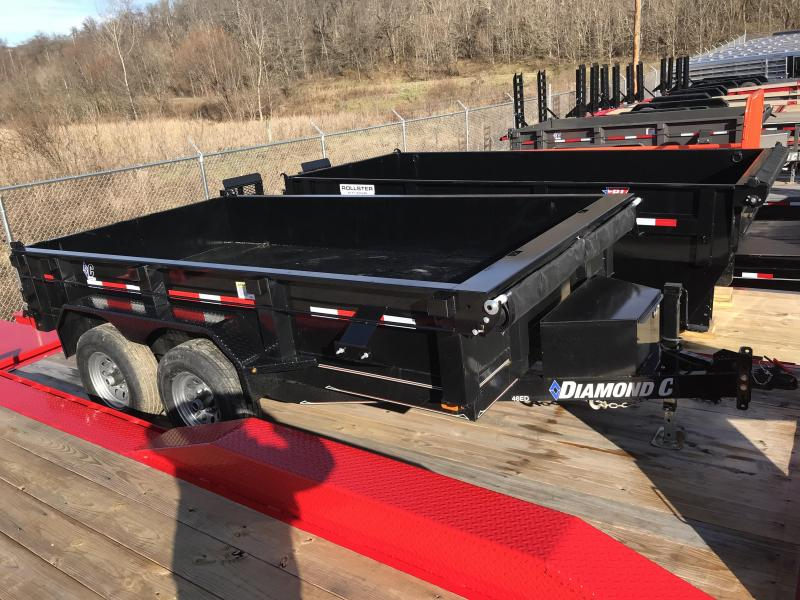"2019 Diamond C 77""X12' Dump Trailer K1206794"