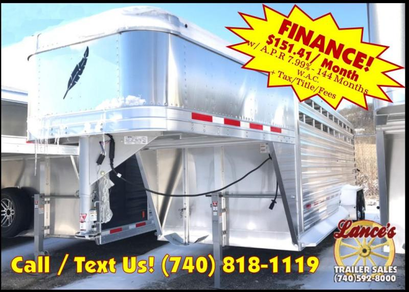2019 Featherlite 8117 20' Livestock Trailer KC151039