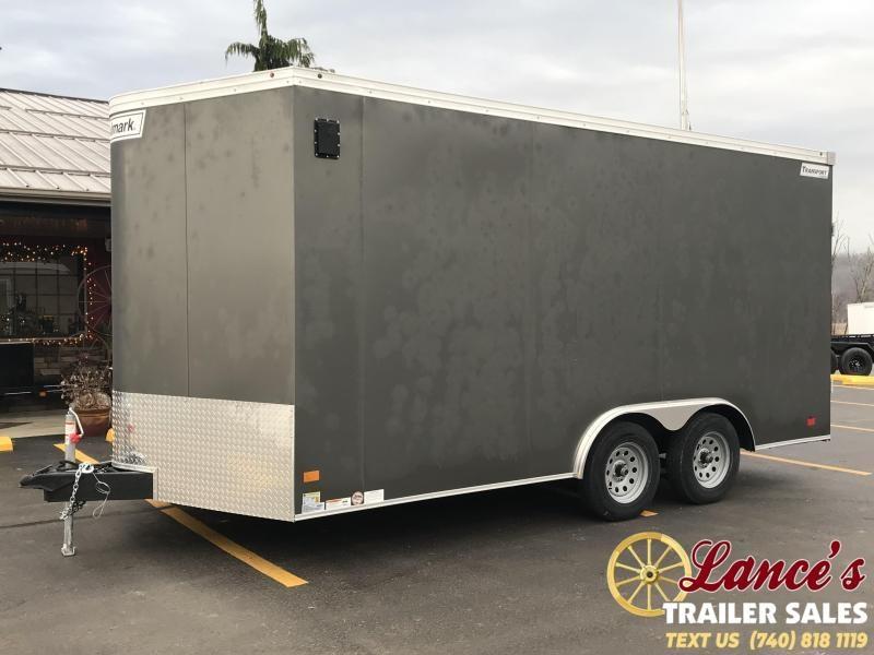 2019 Haulmark Transport 8.5'x16' Tandem Axle Cargo Trailer KH000692